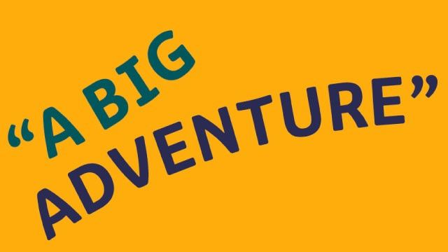 small image of a big adventure quote on the blog landing page and related articles